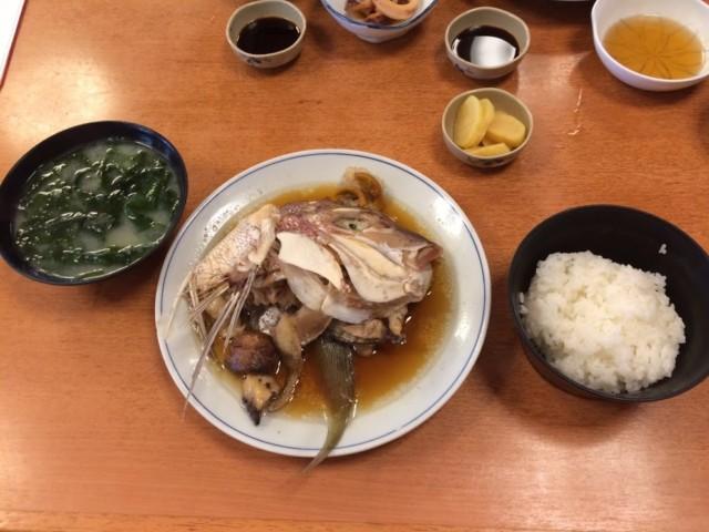 びんび家 煮魚定食 鯛