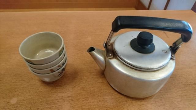 びんび家 お茶