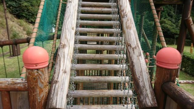 足元ぐらぐらの階段