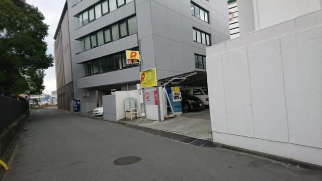 徳島 三菱東京UFJ  駐車場