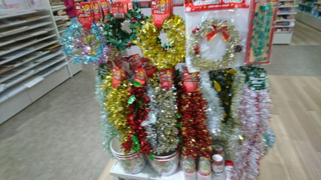 セリア クリスマス ビッグモチーフモール