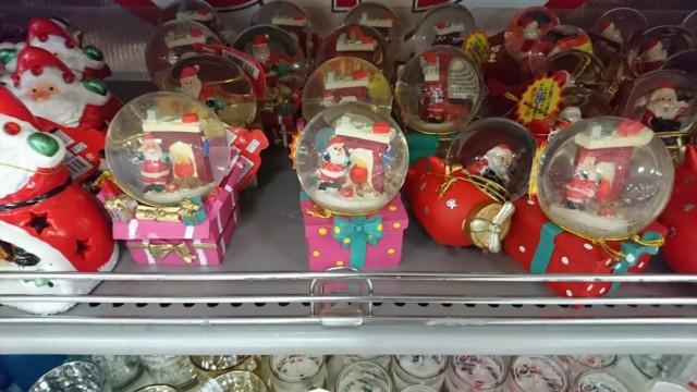 クリスマス ガラス玉