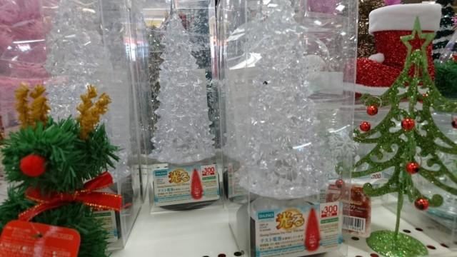 ダイソーのクリスマスツリー