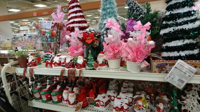 ダイソー クリスマスツリー オブジェ