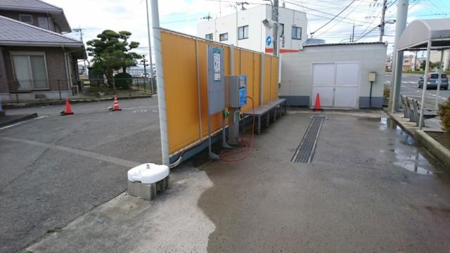徳島 手洗い洗車場